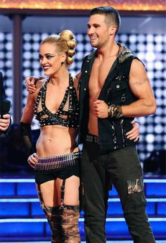 James Maslow and Peta Murgatroyd get judges feedback on #DWTS Week 10 (5/19/14)