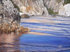The Artwork of Susanne Leasure – California Seascapes Seaside Theme, Pretty Art, Ocean, California, Paintings, Watercolor, World, Artwork, Outdoor