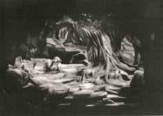 """ Siegfried "" 2.Akt 1934  Emil Preetorius  Bühnenphoto"