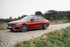 Testing the new Mercedes Benz C-Class AMG Models