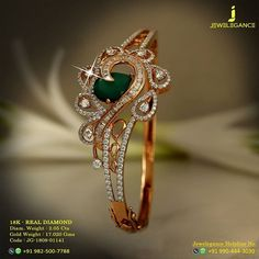 Real Diamond Luxury Design Get in touch with us on Gold Ring Designs, Gold Bangles Design, Gold Earrings Designs, Gold Jewellery Design, Diamond Jewellery, Diamond Necklaces, Diamond Bracelets, Jewellery Box, Bangle Bracelets
