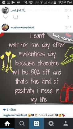 I jus want the chocolate