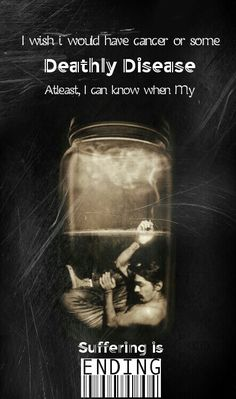 End my suffering #Depression #black #addicted #lonely #hate #tears #dead #hurt #selfdistruction #quotes #saddness #depressed #weak #broken #emptiness #darkart #artistic #pain #potrait #artwork #inspiration #unhappy #soul #darksoul #darkevil