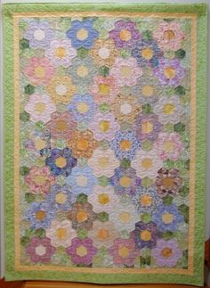 grandmother's flower garden | EASY GRANDMOTHER'S FLOWER GARDEN METHOD - Beautiful Flowers