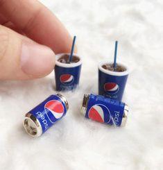 Miniature Coke Cup and Coke Can SetMiniature CokeDolls and