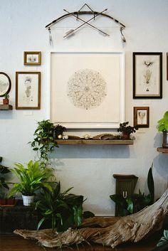 Ironwood Gallery, Denver, Colorado  (center) #art #illustration #drawing