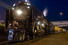 Frontier Days Train - 2008 Edition | Union Pacific Railroad's legendary steam locomotive No. 844 pulls the train between Cheyenne, Wyo., and Denver, Colo. The excursions  celebrate railroad history and the heritage of Union Pacific.