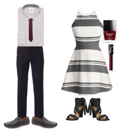 """""""Untitled #82"""" by oddlyfashionable on Polyvore featuring Elizabeth and James, Apt. 9, Ben Sherman, Zanzara, Gucci and NARS Cosmetics"""