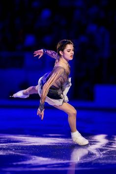 performs in the Gala Exhibition during day three of the ISU Grand Prix of Figure Skating Rostelecom Cup at Ice Palace Megasport on October 22 2017 in...