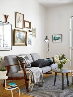 Les petites surfaces du jour : un studio à la décoration sobre