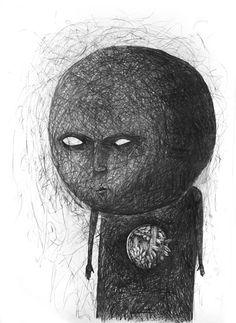 Drawings Nov 2011 by Stefan Zsaitsits, via Behance