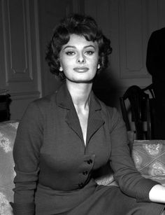 Sophia Loren, 1958.