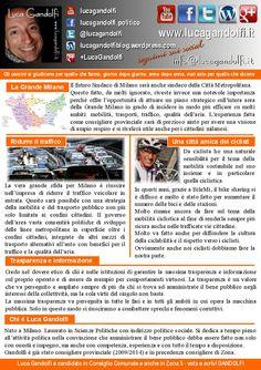 Elezioni Amministrative di Milano del 5 giugno 2016 Luca Gandolfi candidato in Consiglio Comunale Luca Gandolfi è candidato in Consiglio Comunale con Italia dei Valori nella coalizione che sostiene…