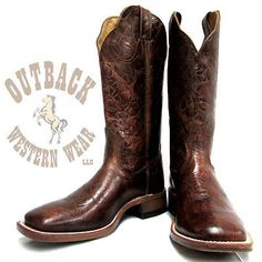 Outback Western Wear's personal stylists help customers choose western clothing, cowboy boots, cowboy hats and accessories. Western Outfits, Western Boots, Cowboy Boots, Western Wear Stores, Square Toe Boots, Personal Stylist, Westerns, Heels, Leather