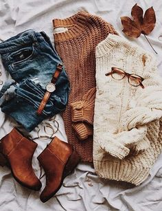 Sweaters...booties! YES!
