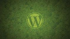 WordPress Wallpaper Green