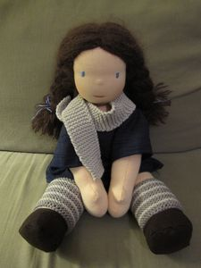 J'adore cette poupée Waldorf, si douce !
