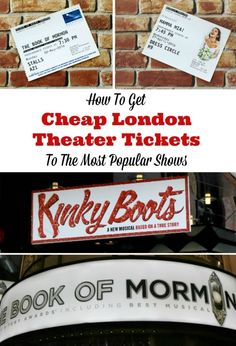 Book of Mormon for under $20? Yes, please! Want the scoop on how to get cheap (and really good!) London theater tickets? We've got super simple tips to save you on your next visit.