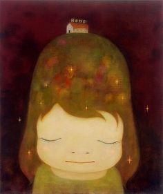 """Yoshitomo Nara """"Nara""""で検索したら、奈良美智と奈良県がひっかかる。"""