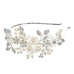 Remedios Boutique Crystal Bridal Wedding Headband Tiara Hair Flower * For more information, visit image link. (This is an Amazon affiliate link)