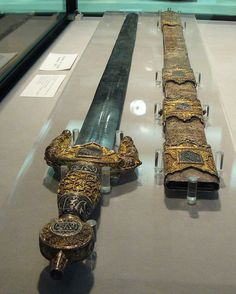 Sword and scabbard of Boabdil (Muhammad XII), Nasrid Granada, c. 1400