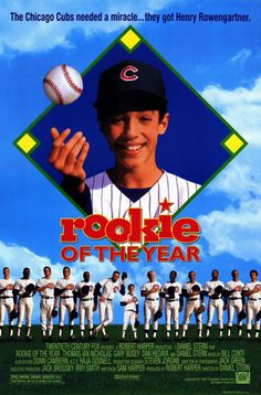 Rookie of the Year starring Thomas Ian Nicholas, Gary Busey, Daniel Stern, and John Candy; directed by Daniel Stern 90s Movies, Great Movies, Movies To Watch, Disney Movies, Awesome Movies, Love Movie, I Movie, Movie List, Movies Showing
