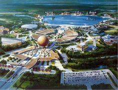 Artist's Drawing of Epcot