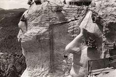 Construcción del Monte Rushmore