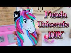 DIY - Kawaii Funda Unicornio para telefono movil o celular - YouTube