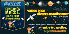 Curso de astronomía para jóvenes. #CIDA #ASTRONOMÍA