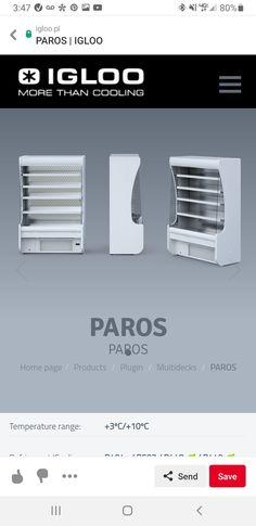Paros, Beverage Refrigerator, Retail, Display, Floor Space, Billboard, Sleeve, Retail Merchandising
