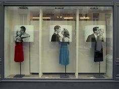 Hollywood Kiss, window french shop Isabel Marant by Emilie Faïf