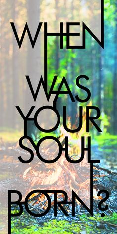 Are you an old soul or a brand new one? When was your soul born? The middle ages or ancient Egypt? Maybe during the Renaissance! Let's find out!