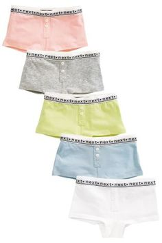 9003901b6a Buy Multi Pastel Boxers Five Pack (3-16yrs) from the Next UK online shop