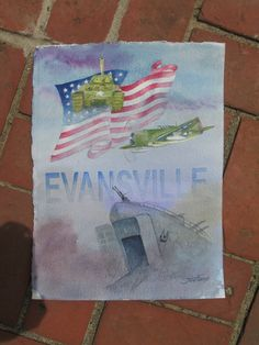 Jon Fuchs, Freedom Fighters Print, $20, Arts Council of Southwestern Indiana 318 Main St. in downtown Evansville