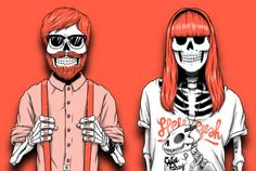 Sebastien Cuypers typography and design Game Wallpaper Iphone, Monkey Art, Head Tattoos, Strong Love, Skull And Bones, Halloween Cosplay, Horror Art, Pop Art, Art Drawings