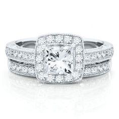 Vivaldi 1 1/4ct TW Diamond Semi-Mount Engagement Ring in 14K Gold available at #HelzbergDiamonds