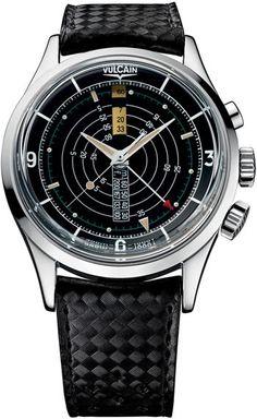 Vulcain Nautical Heritage Alarm Watch #bremont Swiss Watchmakers  #horlogerie #vulcain @calibrelondon