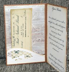Konfirmasjon Notebook, Scrapbooking, Cover, Cards, Scrapbook, Slipcovers, Playing Cards, Memory Books, Notebooks
