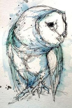 Turquoise Tyto by Abby Diamond, via Behance