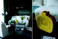 Casa Das Janelas Com Vista, una encantadora casa de huéspedes, el estilo es una mezcla de todo, vintage, chic, informal. c@sasdepelicula.blogspot.com