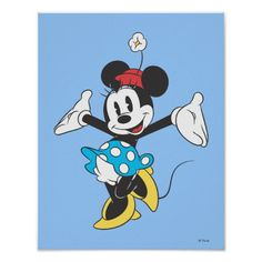 Classic Minnie Mouse 2 Poster