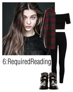 """6: Required Reading"" by teddy-bear-princess on Polyvore featuring Mode, Pieces, Miss Selfridge und Yves Saint Laurent"