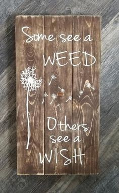 """10.5"""" x 20"""" three board wooden pallet sign stained background with white lettering and design weathered/distressed finish All items I have for sale are crafted by hand, rather than mass produced as you would find in a store. Because of this, your piece may slightly vary from photos shown. My wood signs are often made"""