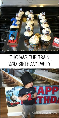 Thomas the Train 2nd Birthday Party - Lots of great ideas with links and free printables