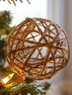 Így készíts karácsonyfadíszt egy egyszerű zsinórból - Szebb lesz, mint gondolnád
