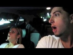 """Car scare prank! Jesse & Jeana - As the self-proclaimed """"craziest YouTube couple"""", there's hardly anything these two won't do. Whether burning each other with searing lightbulbs, putting cellophane over doorways or setting firecrackers off under one another, they're a whole bunch of sneaky fun."""