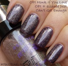 Tines Kosmetikblog: essence Just Can't Get Enough (Holo Finish Pop Topcoat)