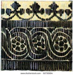 Coptic fabric pattern