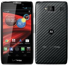 Motorola Droid Razr Maxx HD with 4.7-inch Super AMOLED full HD display and Kevlar case, 4G LTE, Android JB 4.1 and NFC ... and a battery that will outlast any other.